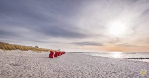 Strand und Strandkörbe Zingst